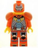 Ironman (Iron Man Orange with Shoulder Armour) - Custom Designed Minifigure